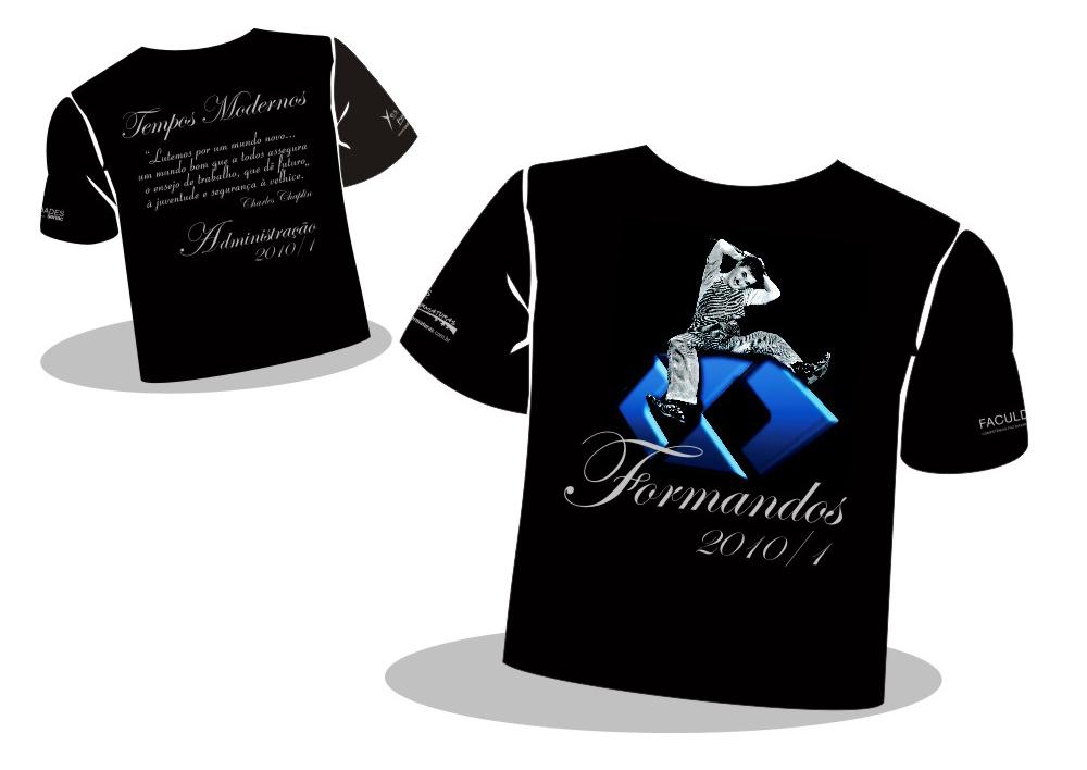 Camiseta Formatura Administração SENAC  8a6d056ab65
