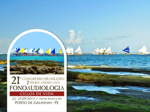 Criação de identidade visual e logotipo do 21ª Congresso Brasileiro de Fonoaudiologia